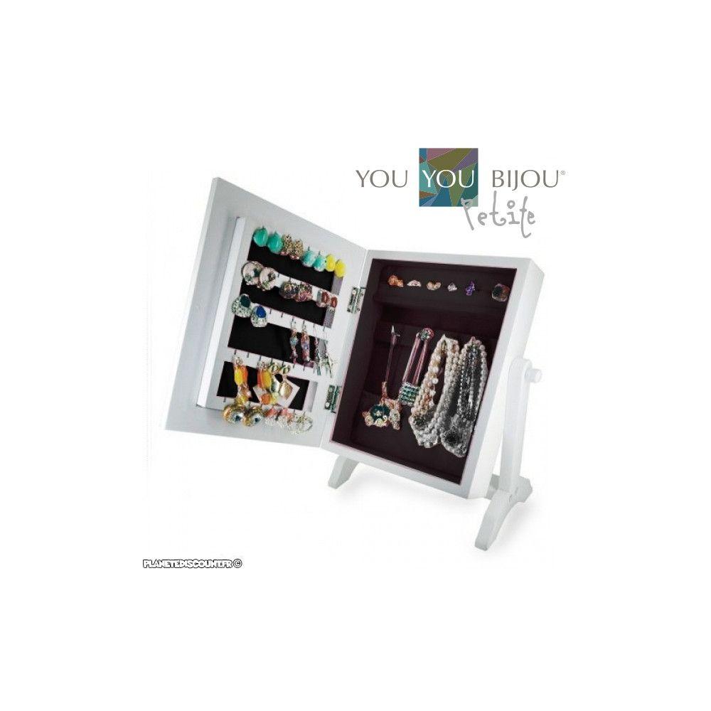 achat armoire coffret bijoux avec miroir prix de gros dropshipping. Black Bedroom Furniture Sets. Home Design Ideas