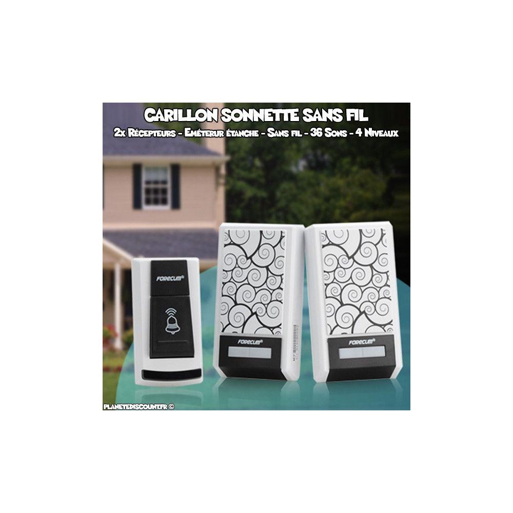 achat sonnette sans fil imperm able prix de gros dropshipping. Black Bedroom Furniture Sets. Home Design Ideas