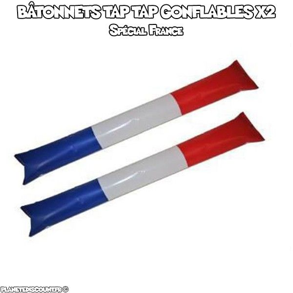 Bâton Tap Tap gonflable France X2