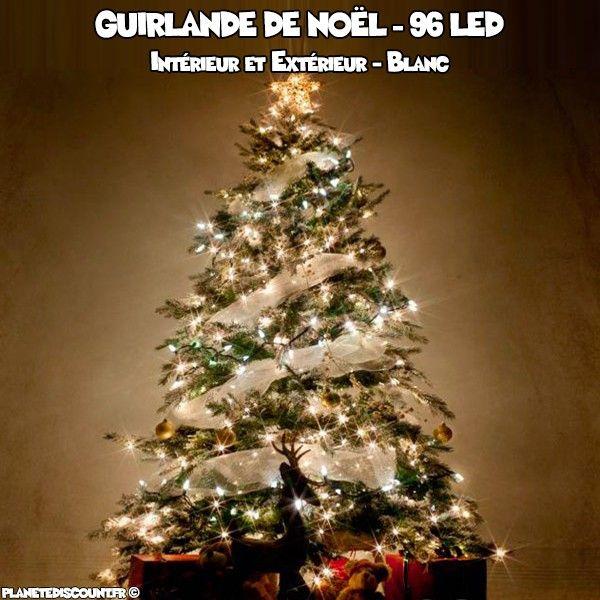 GrosDropshipping Led Prix Blanche 96 Guirlande Achat Noël À De shQCtrd