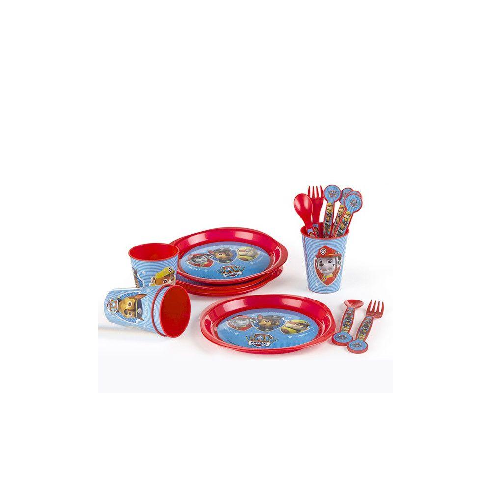 Prix De Gros Set De Vaisselle Enfant 16 Pi Ces La Pat