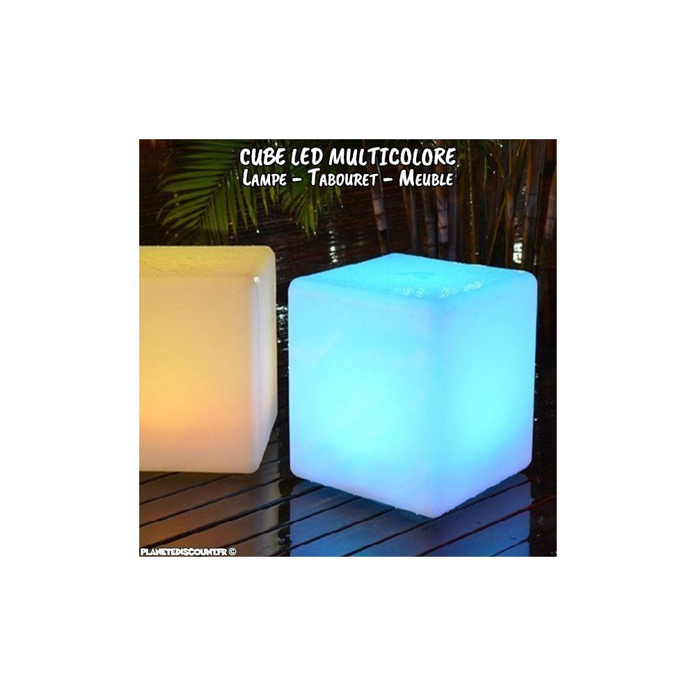 prix grossiste cube lumineux led de 30 cm sans fil avec t l commande. Black Bedroom Furniture Sets. Home Design Ideas
