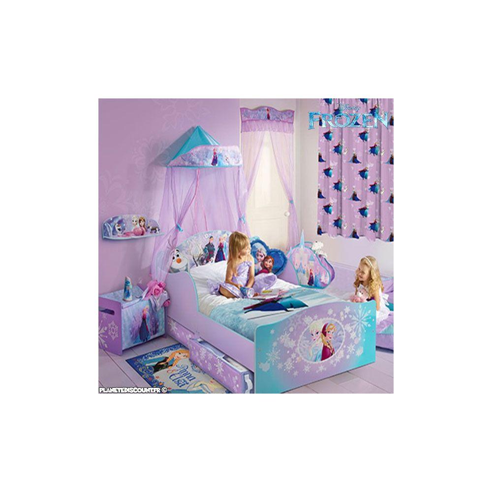 Grossiste Lit Enfant La Reine Des Neiges Avec Rangements B2b Disney