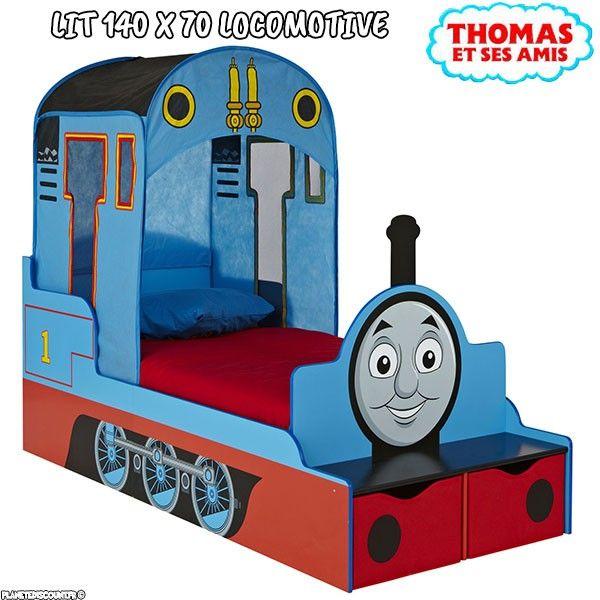 Lit enfant Thomas le Train La Locomotive