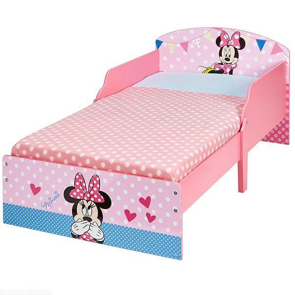 Lit enfant Minnie en bois Cosy Disney