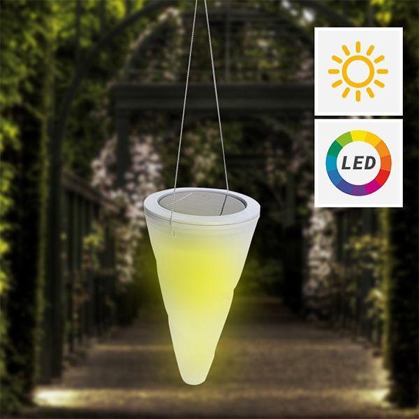 Grossiste Lampe solaire multicolore à suspendre B2B