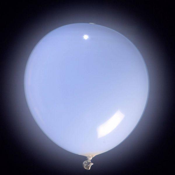 Ballons LED lumineux Blanc x10
