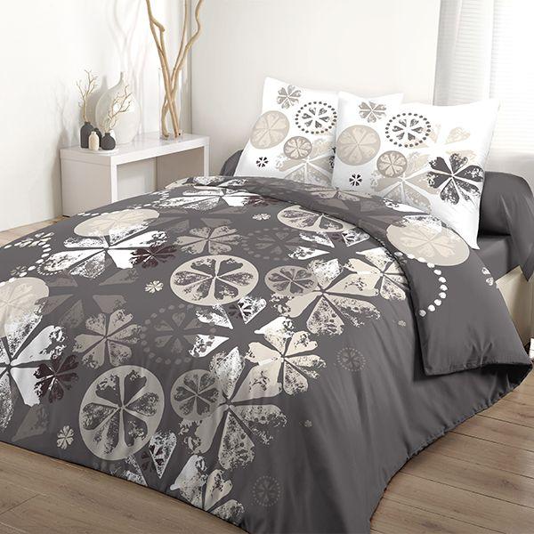 grossiste parure de couette 100 coton 240x260 cm mariella b2b. Black Bedroom Furniture Sets. Home Design Ideas