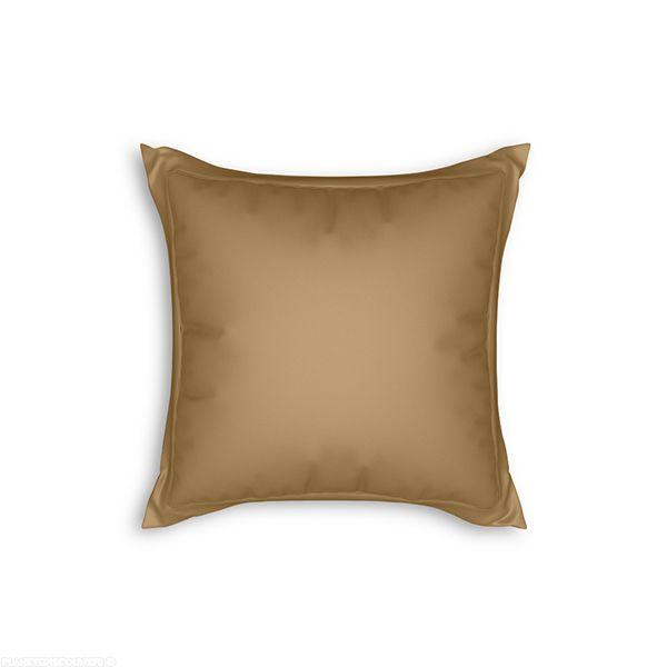 Taie d'oreiller avec volant 65x65 cm Lin