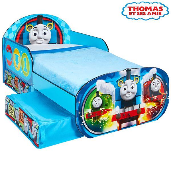 Lit enfant Thomas et ses amis avec rangements