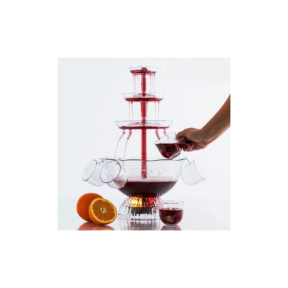 grossiste fontaine cocktail lumineuse prix de gros dropshipping. Black Bedroom Furniture Sets. Home Design Ideas