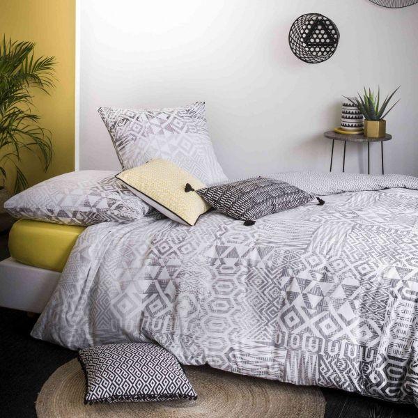 grossiste parure de couette coton arto 240x260 cm b2b. Black Bedroom Furniture Sets. Home Design Ideas