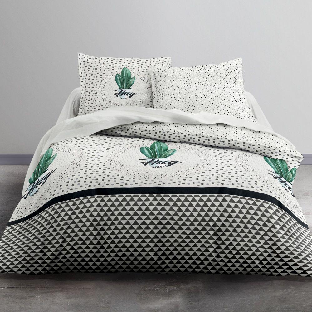 fournisseur de parure de couette coton green cactus today b2b. Black Bedroom Furniture Sets. Home Design Ideas