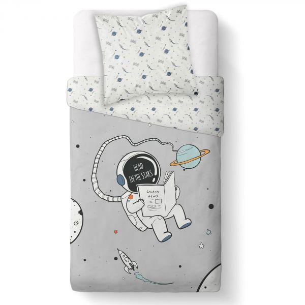 Parure de couette enfant coton 57 fils Galaxy TODAY 140x200 cm