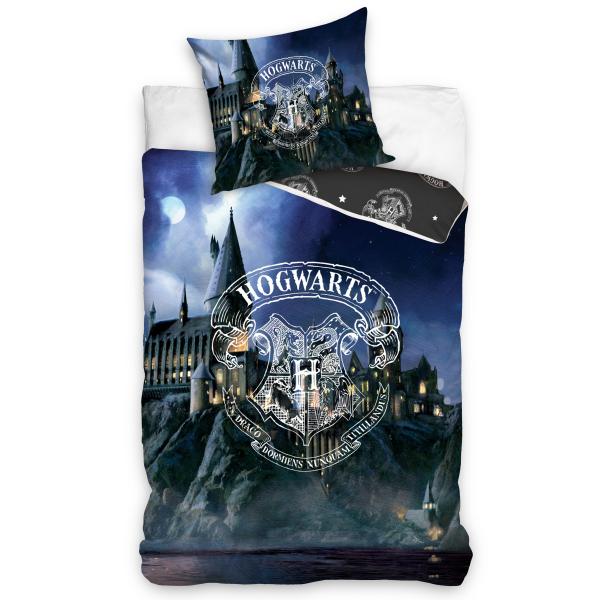 Parure de lit Poudlard Hogwarts - Harry Potter 100% coton 140x200 cm